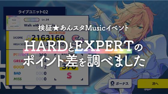 あんスタMusic イベント HARD EXPERT